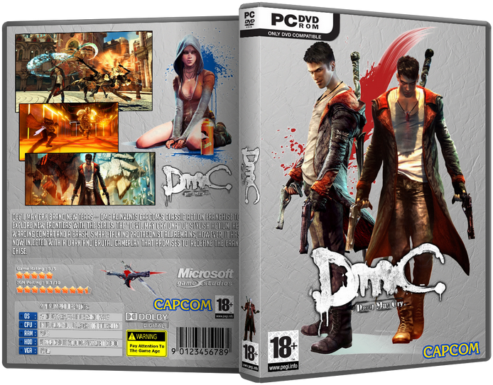 DmC Devil May Cry (2013/ENG/RUS/Repack by R.G. Механики)