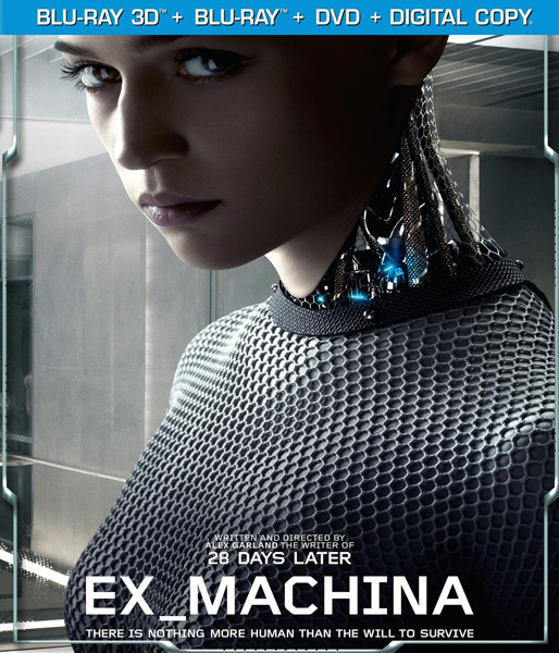 Из машины / Ex Machina (2015) HDRip-AVC от ExKinoRay | Лицензия